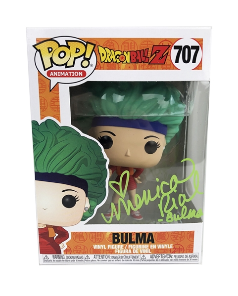 "Monica Rial Autograph Signed Funko Pop - Dragon Ball Z ""Bulma"" (JSA COA)"