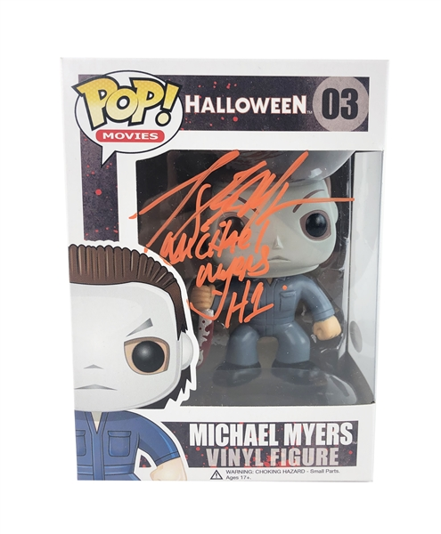 "Tony Moran Autograph Signed Funko Pop - Halloween ""Michael Myers"" (JSA COA)"