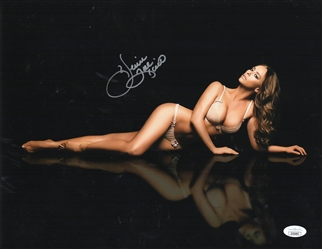 "Jennifer Love Hewitt Autograph Signed 11x14 Photo - I Know What You Did Last Summer Party of 5  ""Julie"" (JSA COA)"