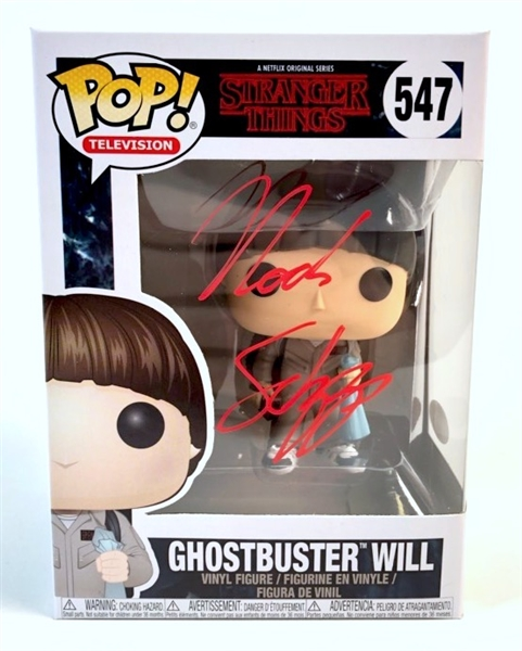 "Noah Schnapp Autograph Signed Funko Pop - Stranger Things ""Will"" (JSA COA)"