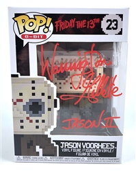 "Warrington Gillette Autograph Signed Funko Pop - Friday the 13th ""Jason Voorhees"" (JSA COA)"