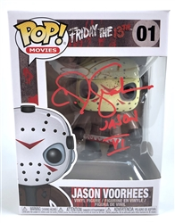 "CJ Graham Autograph Signed Funko Pop - Friday the 13th ""Jason Voorhees"" (JSA COA)"