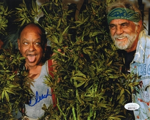 "Cheech & Chong Dual-Signed Autograph Signed 8x10 Photo - Up in Smoke ""Cheech & Chong"" (JSA COA)"