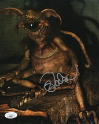 "Mark Dodson Autograph Signed 8x10 Photo - Star Wars ""Salacious Crumb"" (JSA COA)"